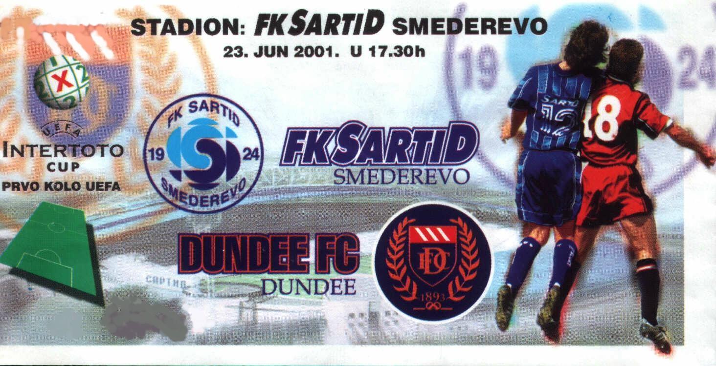 Sartid - Dundee FC